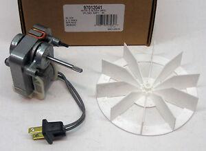 97012041 broan nutone bathroom vent fan motor wheel 50 for Nutone bathroom fan motor 57n2