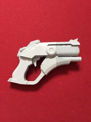 Overwatch OW Mercy Caduceus Blaster Gun Weapon 3D printed Cosplay Prop