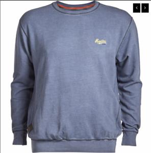 69 Jeans £ 95 Srp Replika blue Sweat Shirt 4xl Fd11q0Ox