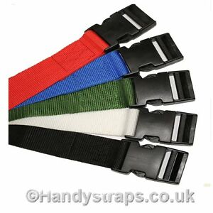 2-x-40mm-2-5meter-Side-release-Luggage-Suitcase-TieDown-Strap