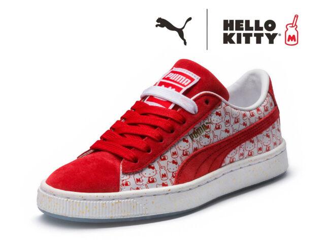 hello kitty x puma suede classic