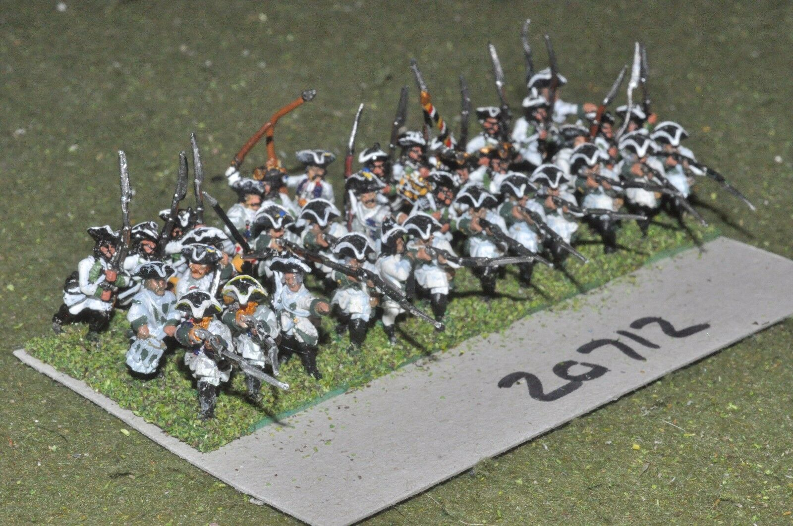 15mm 7YW   Austrian - seven years war infantry 36 figures  - inf (20712)