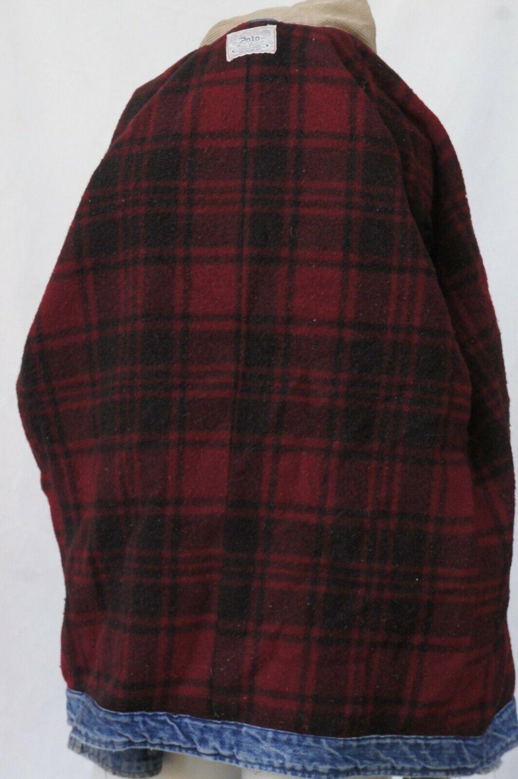 Vintage 80s Men's Ralph Lauren Polo Jean Jacket - image 7