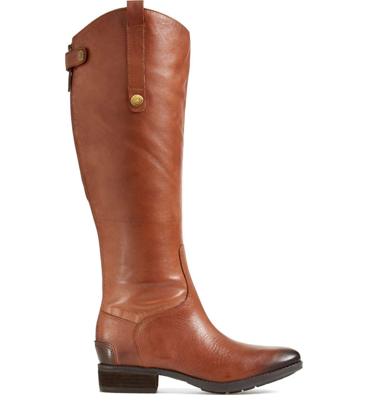 SAM EDELMAN EDELMAN EDELMAN Penny 2 Riding Stiefel Wide Calf Whiskey braun 7 7.5 8 8.5 9.5 10 M W 4ee7cd