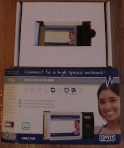 Carte-Reseau-PCMCIA-10-100-pour-PC-Portable
