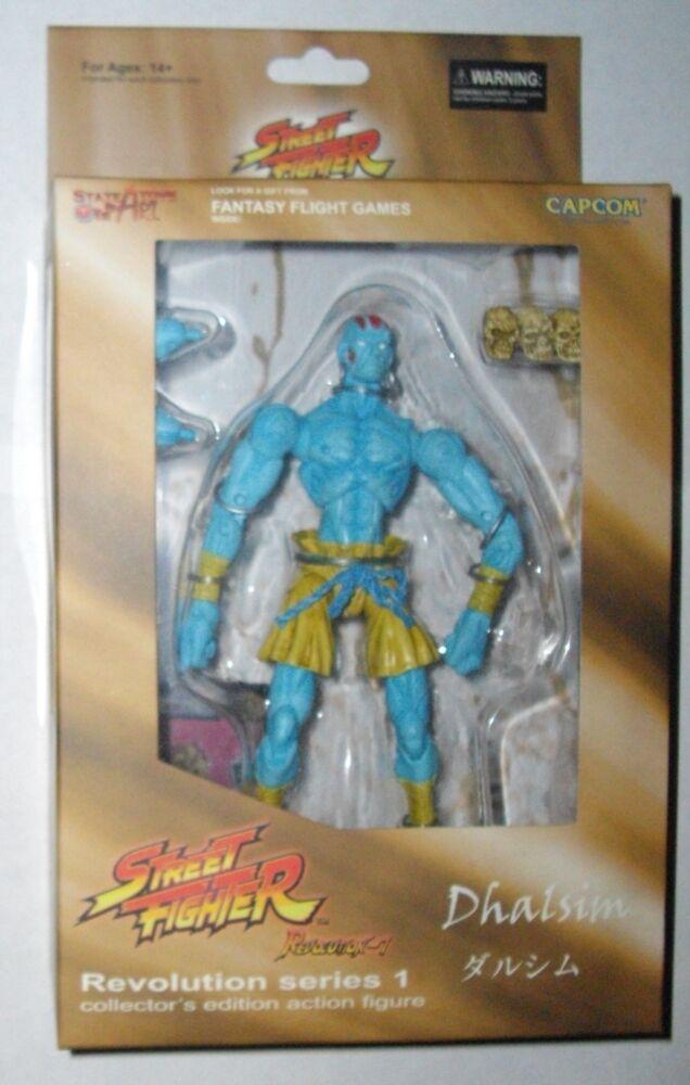 Street Fighter Blau Dhalsim Figure Revolution Series 2 Sota Toy Capcom variant