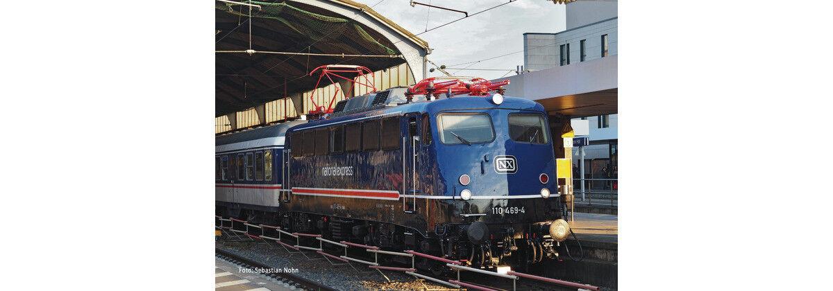 Fleischmann 733675, Elektrolok BR 110, NX Rail, Digital Digital Digital + Sound, Neu und OVP, N cfc928