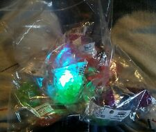 000 NEW LED Flashing Jelly Bumpy Rings Multi Color 21ct Light Up Lightup Kingdom