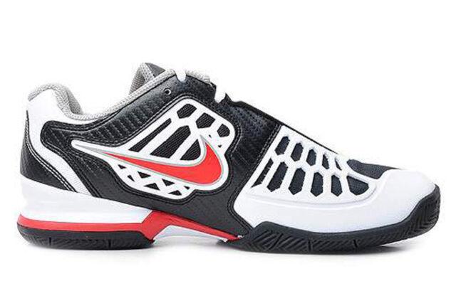 2511ebc7356d0 2011 Nike Zoom Breathe 2k11 SZ 10 Black Chilling Red Tennis Shoes 454127-002