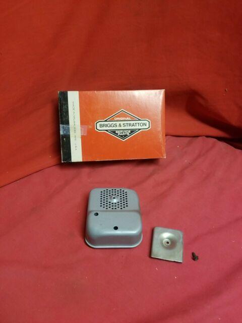 NOS Genuine Briggs & Stratton Muffler  With Hardware #297274