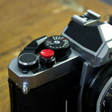 Soft Release Shutter Button For Fuji X100 X10 Leica M3 M6 M9 Rollei Nikon Red