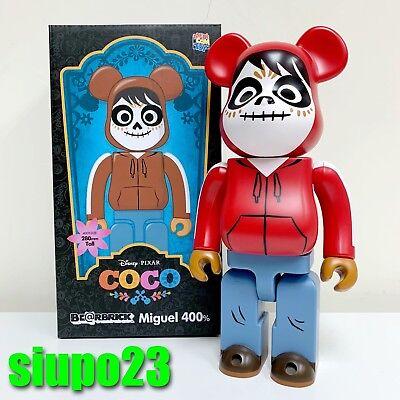 Medicom 400/% Bearbrick ~ Disney Pixar COCO Be@rbrick Miguel