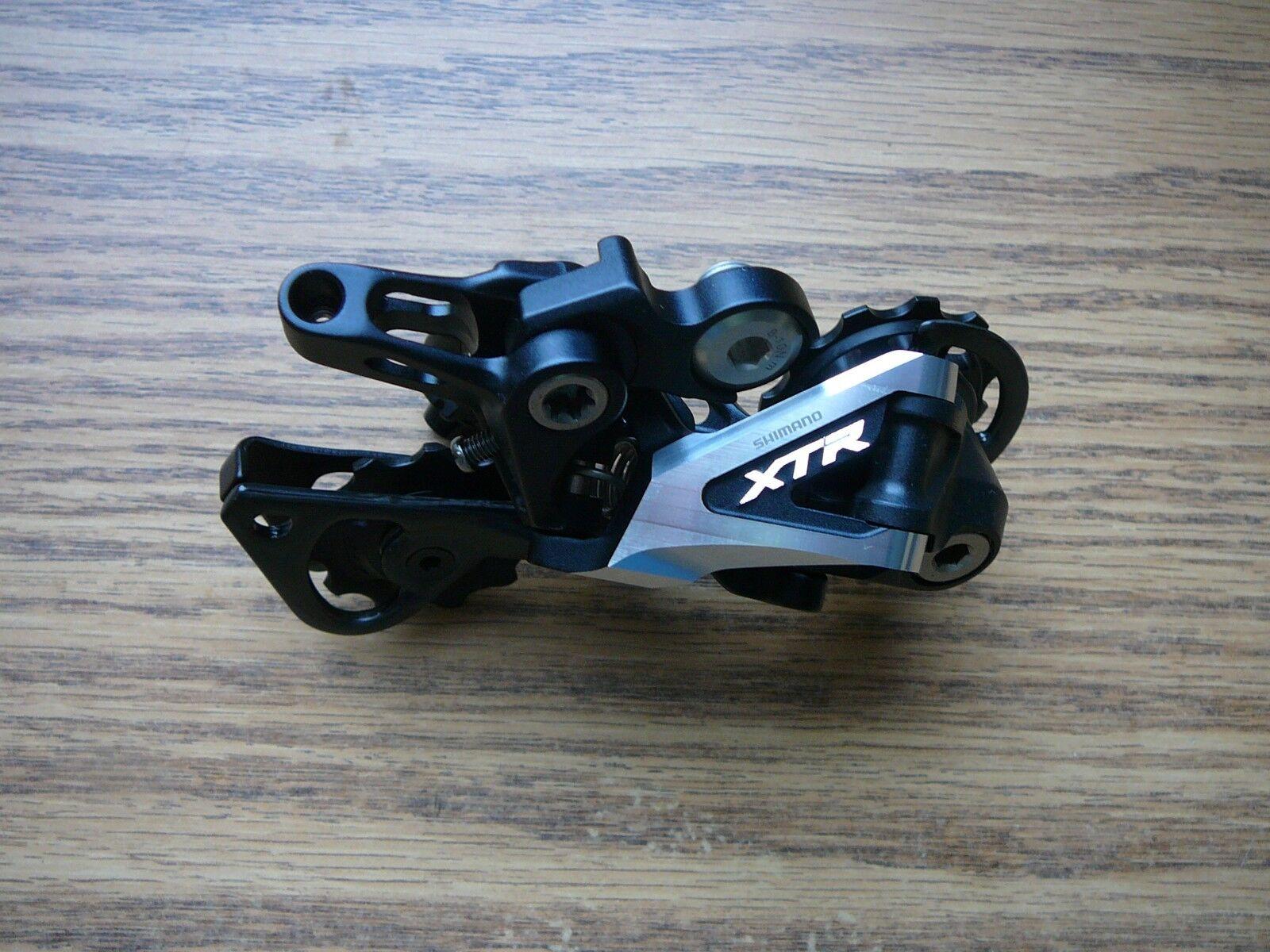 10 Speed Rear Bicycle Derailleur Shimano XTR RD-M980 GS Medium Cage Bike Shadow