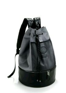 BRAND NEW VERSACE Rucksack MENS BLACK TRAVEL WEEKEND FLIGHT SPORTS ... a21fe4c68edfc