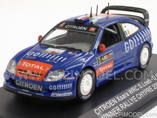 despacho de tienda 1 43 Norev 2006 Citroen Xsara Xsara Xsara WRC Kronos D. S. Loeb Elena 159752 Nuevo  conveniente