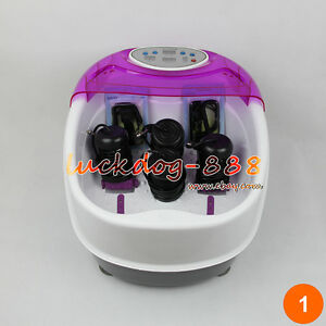 Premium-Tub-Detox-Ionic-Ion-Foot-Bath-Cleanse-Spa-Machine-4-Arrays-Health-Gift