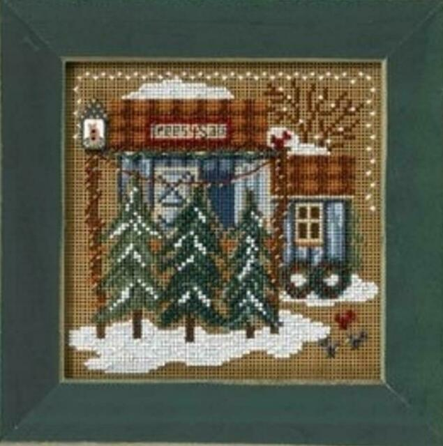 MILL HILL Buttons Beads Kit Counted Cross Stitch JINGLE BELLS MH14-8306