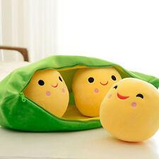 3 Peas in a Pod Plush Soft  Pillow Toys Stuffed Animal Soft Doll Bean Bag 25CM