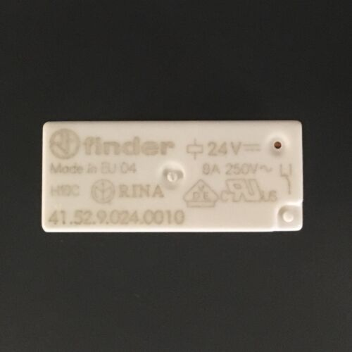 41.52.9.024.0010 Finder Relay Low-Profile Relay BOX OF 20 24VDC coil DPDT 8A