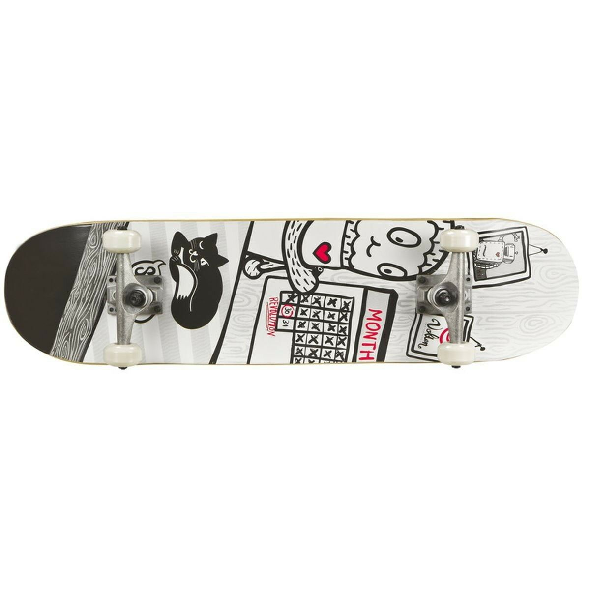 Volten Boards Shortboard Revolution Revolution Shortboard Skateboard 546c8d