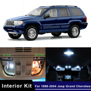 Image Is Loading 10x Led Car Map Dome Trunk Interior Lights