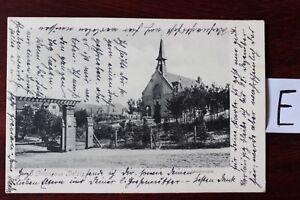Carte Postale Vue Carte Brandebourg Lithographie Grus De Belzig Sanatorium-afficher Le Titre D'origine