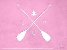 STAND UP PADDLE BOARD Sticker Surfing Style1 all chrome /& regular vinyl colors