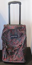Jansport Wheeled Superbreak Backpack book bag Black Handle Bag gray red black