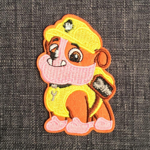 PAW PATROL Quality Embroidered TV Cartoon Puppy Dog Patch Badge Motif Iron-On