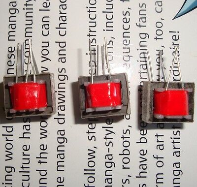 3pcs Audio output transformer 2k 2k 96 Ohms 1:22  0.25 Watt