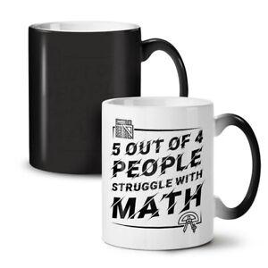Math Struggle NEW Colour Changing Tea Coffee Mug 11 oz | Wellcoda