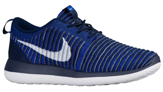 the best attitude 098d0 b7901 NIB NIKE Mens 9.5 ROSHE TWO FLYKNIT BLUE 844833 402 RUNNING LIFESTYLE SHOES   130