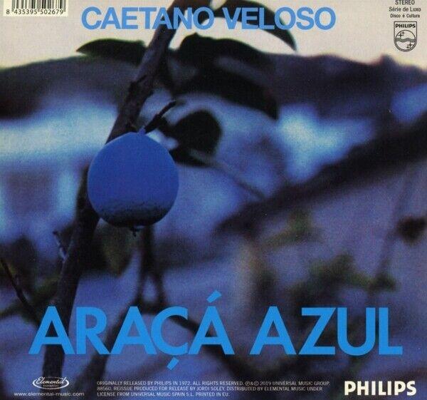CAETANO VELOSO - ARACA AZUL   CD NEU