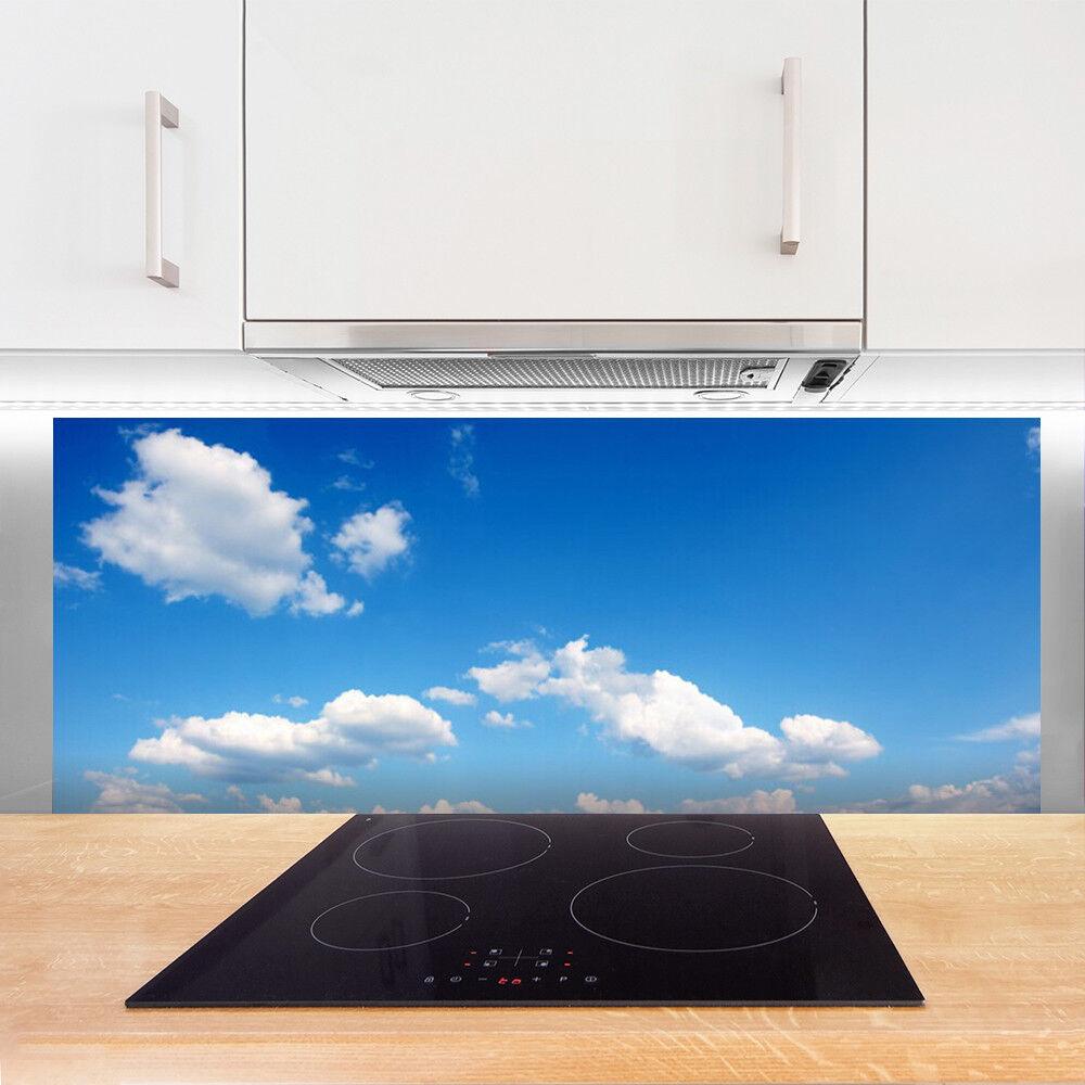 crédence verre de cuisine en verre crédence panneau 125x50 paysage