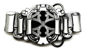 Celtic-Guertelschnalle-Schleife-Knoten-Motiv-Schwarzweiss-Authentic-Dragon-Designs