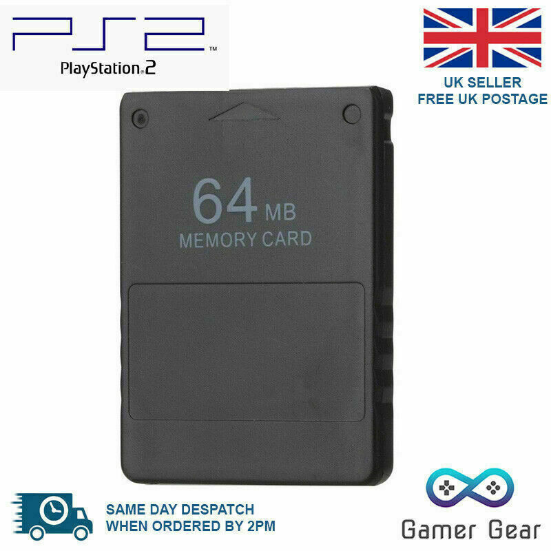 64MB PS2 Memory Card Data Stick for Sony Playstation 2