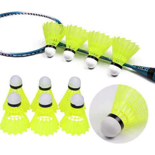 Nylon Plastique Badminton Volants stable formation Balles Intérieur//Extérieur