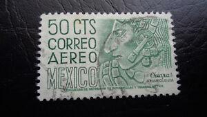 Mexico, Briefmarke, 50 CTS Correro Aereo, Chiapas Arquweologia, gestempelt