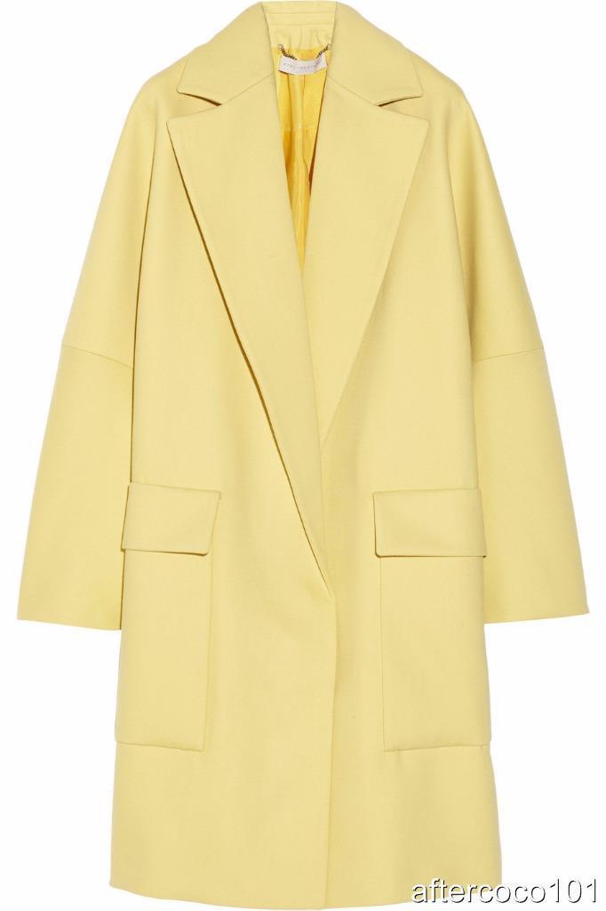 STELLA MCCARTNEY Wool Coat UK6-8  Dress New Authentic RRP1600GBP