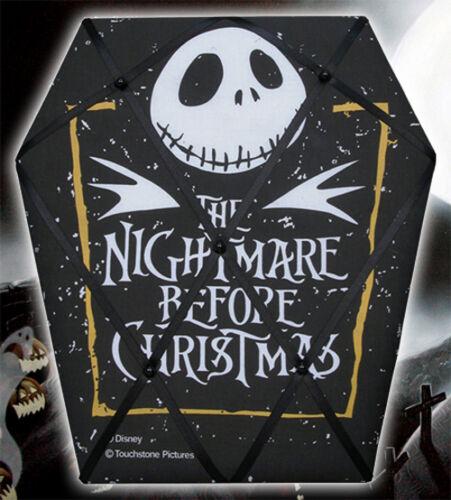 NECA Nightmare Before Christmas JACK SKELLINGTON coffin MEMO BOARD Disney Burton