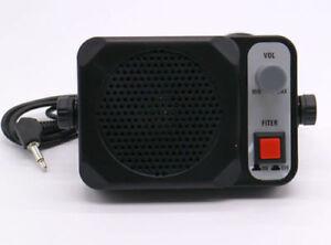 TS-650-External-Speaker-For-Yaesu-Kenwood-ICOM-Motorola-Radio-3-5mm