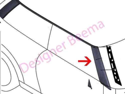 JS Mini One Cooper SD F56 A-Pilar Moldura Negra Cubierta-Delantero Derecho
