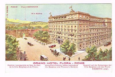 Vintage Postcard Italy 1900 ca. - ROMA LAZIO Rome GRAND ...