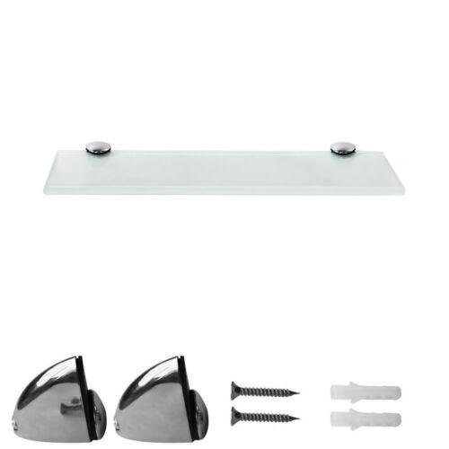 Glass Bottom 30x10CM Wall Shelf Glass Shelf Bathroom Shelf Floating Shelf Shower Shelf