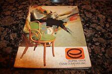 VINTAGE 1969 Empire Chair Co Salesman Catalog RESTAURANT HOTEL SEATING FURNITURE
