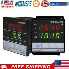 Dual Digital Pid Temperature Controller Thermostat Thermal Thermocouple