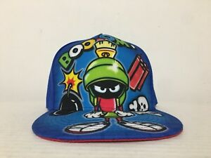 ff5c6a6f372 Image is loading Marvin-the-Martian-Looney-Tunes-Snapback-Graffiti-Hat-