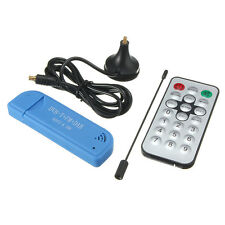 RTL2832U+R820T2 USB 2.0 Digital DVB-T SDR+DAB+FM HDTV TV Tuner Receiver Stick