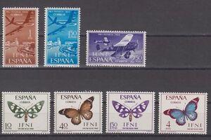 IFNI-ESPANA-ANO-1966-NUEVO-COMPLETO-MNH-SPAIN-EDIFIL-218-24