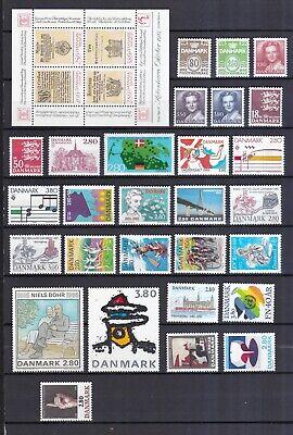 Dänemark Postfrisch Jahrgang 1985 Siehe Bild Eleganter Auftritt